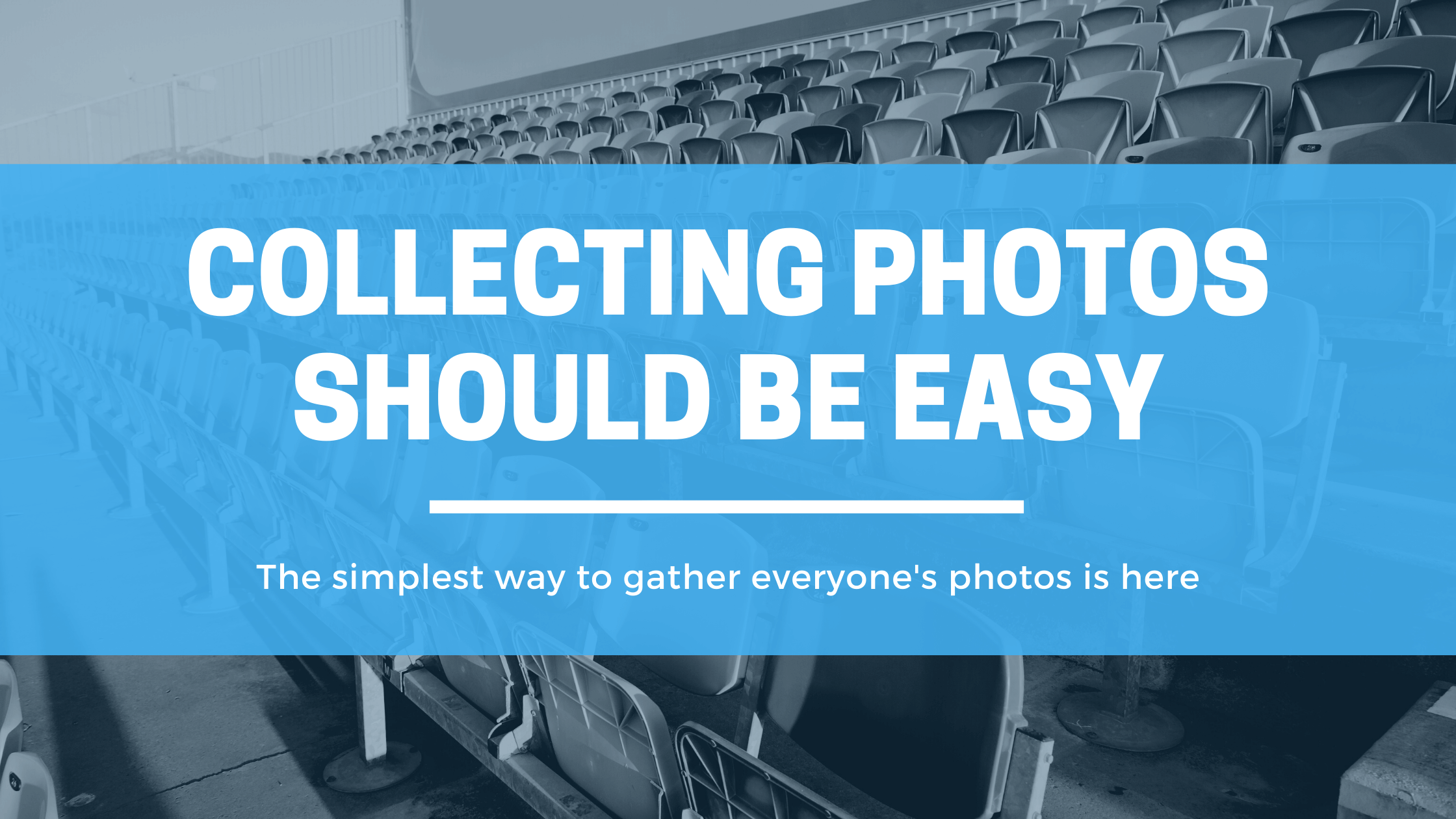 Collecting photos should be easy